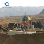 日產200噸輪斗洗砂生產線配置 風化砂石粉洗砂機直銷