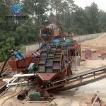 沙場水車洗砂機 環保風化砂洗砂生產線參數