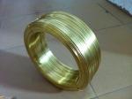 拉链0.8*3.8MM黄铜扁线H65半硬黄铜线