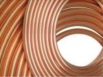 9.52*0.8MM紫铜盘管T2空调铜管厂家