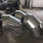 供应不锈钢白铁皮风管厂家直销 螺旋风管厂家直销