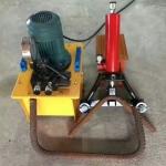 手提式鋼筋彎曲調直機液壓32型手持式鋼筋彎曲機生產廠家