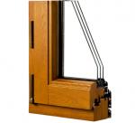 80實木復合窗,鋁合金包木頭窗戶,75系列鋁木復合窗
