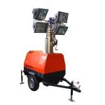 厂家现货供应手摇升降9米全方位移动照明灯塔 拖车照明车