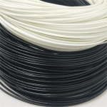 Φ4.0硅树脂玻璃纤维套管 专业生产耐高温纤维管 自熄管