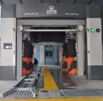 凯萨朗304不锈钢隧道九刷洗车机