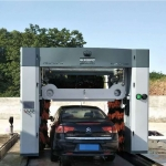 凯萨朗龙门自动洗车机5刷带风干机型