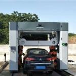 上海凯萨朗龙门往复式洗车机尖端配置6台变频器洗车设备