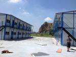 供應溫州彩鋼房搭建 溫州虹日彩鋼板活動房施工公司