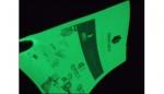 夜光膜夜光打印紙夜光地貼發光消防警示牌夜光安全標志牌