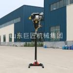 山东巨匠供应30米地质勘探钻机BXZ-2L立架背包钻机使用方