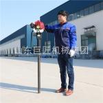 山东巨匠供应10米取土钻机QTZ-1高频振动勘探钻机操作简单