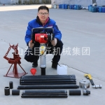 山东巨匠供应20米取土钻机qtz-3野外取土样器单人可操作