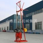 工厂直供汽油机动力岩心取样钻机30米野外勘探取芯钻机携带方便