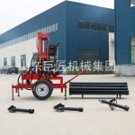液压三项电打井机新型钻井设备巨匠牌120米水井钻机操作简单