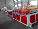 供應600PVC集成墻板生產線|1200型發泡墻板設備
