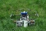 四川六轴电力架线无人机电力工程放线拉线遥控飞机