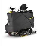 凯驰驾驶式盘刷、滚刷互换型B150全自动洗地吸干机