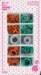 進口現貨低價出售丁腈橡膠墊片O型密封圈、V型圈、X型圈