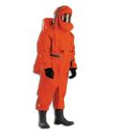 呼吸器內置重型防化服_A級氣密式防護服/重型防護服