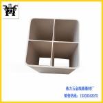 PVC方孔穿线管 四孔格栅管 电信弱电四孔穿线管特惠