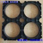 高压电力管管枕 玻璃钢管管枕  黑色电力管管架PVC管枕