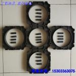 PVC110管枕 塑料管排架 电力管管枕玻璃钢管支架现货批发
