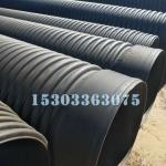 HDPE大口径波纹管 排污水下水管道 直径400波纹管