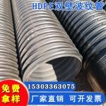 hdpe雙壁波紋管 大口徑排污管 直徑300/400排水管
