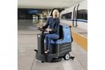 广西容恩小型驾驶式盘刷洗地机|工厂洗地机|电瓶式单刷洗地机