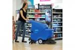 洗刷吸干一体机 无锡工厂油漆环氧地面用拖线式手推洗地机