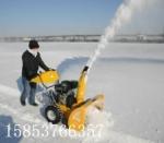魚塘大棚高效清雪拋雪機,小型手推式掃雪機