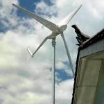 甘肅藍潤3KW小型風力發電機家用漁船用安全穩定