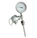 博锐 一体化双金属温度计液体测量江苏