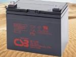 台湾希世比 CSB蓄电池 GP12340 12V34AH U