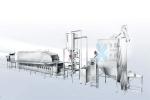 600自动米饭生产线、米饭线、厨房设备,炊具,蒸饭机