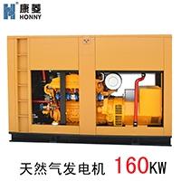广东直销160kw压缩天然气发电机 小功率发电机 垃圾填埋气