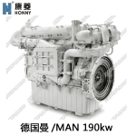 【德国曼燃气发电机组】190kw天然气发电机组 广东康菱代理