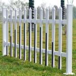 济南卖PVC塑钢护栏,变压器电厂围挡,园艺护栏,草坪围栏