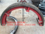 1.5米1.8米2.0米烘干机铸钢大齿轮