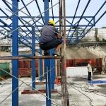 鋼結構廠房出售回收鋼結構行車房庫房舊鋼結構材料工字鋼