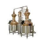 伏特加蒸餾設備 專業定制全套紫銅不銹鋼白酒蒸餾系統
