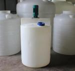 如东污水处理厂500LPE水箱 耐酸碱 搅拌加药桶200L