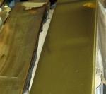 H62黄铜板1.5mm厚度规格拉丝黄铜板