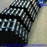 保定输送设备厂家专业生产尼龙托辊 橡胶托辊 槽型托辊