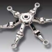 【供应直销】供应铸造不锈钢配件产品 管道配件 雨棚管道配件