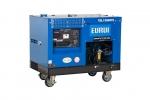 原裝日本東洋柴油10KW三相移動發電機組TDL13000TE