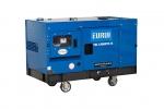 原裝進口柴油車載靜音型10KW發電機組TDL13000TE-