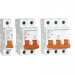 四川施耐德断路器供应 SC65-63系列小型断路器 成都电气
