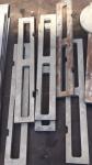 不锈钢铝合金水切割加工